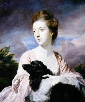 Lady Charles Spencer (oil on canvas) 20th