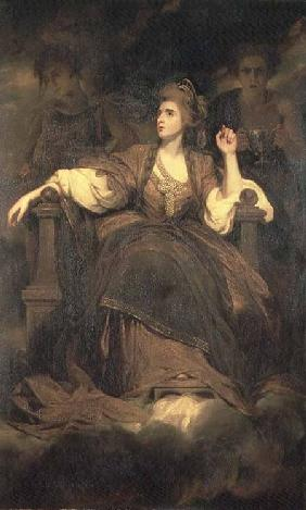 Mrs Siddons as the Tragic Muse 1789