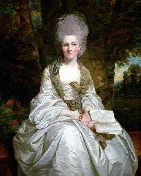 A Portrait of Dorothy Vaughan, Countess of Lisburne c.1777