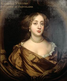 Portrait of Barbara Villiers (1641-1709), Duchess of Cleveland 1680