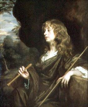 Young Man as a Shepherd