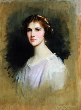 Sketch for a Portrait of Mrs Ackers 1925