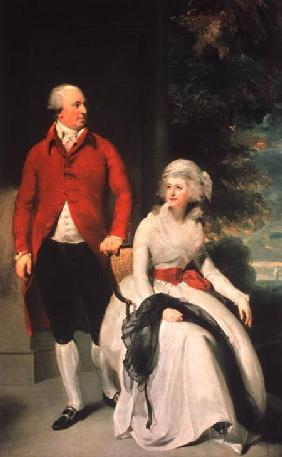 Mr John Julius Angerstein (1735-1823) and his Second Wife, Eliza Payne (1748-1800) 1792