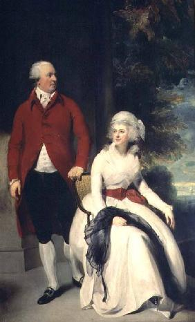 Portrait of John Julius Angerstein (1735-1823) and his second wife Eliza (1748/9-1800) c.1792