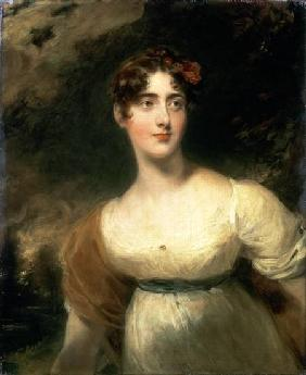 Portrait of Lady Emily Harriet Wellesley-Pole, later Lady Raglan later Lady