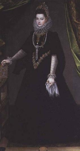 Infanta Isabella Clara Eugenia (1566-1633), daughter of King Philip II of Spain (1556-98) and Isabel 1599