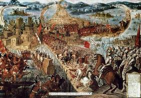 The Taking of Tenochtitlan by Cortes 1521