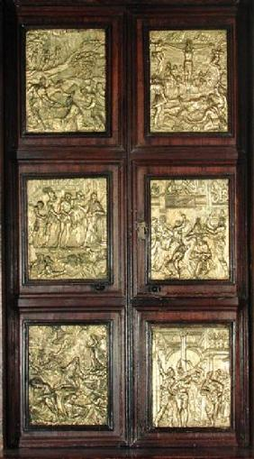 Shrine doors of the Sacramentary Chapel