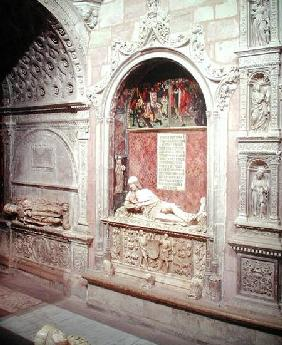 The Tomb of 'Doncel' Don Martin Vazquez of Acre