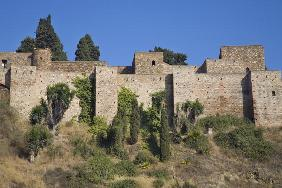 Walls of the Alcazaba (photo)