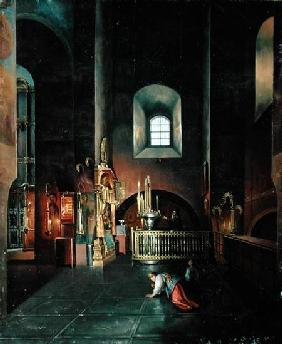 In a Church 1851