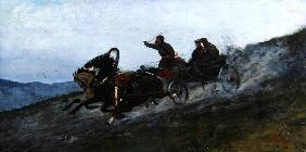 Siberian Troika, Urals, 1876 (oil on canvas) 16th