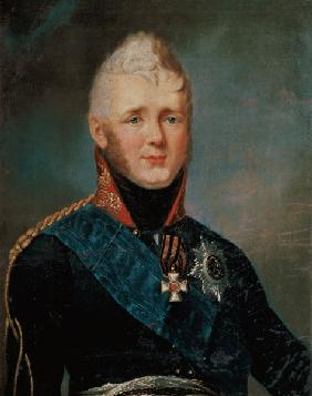 Portrait of Emperor Alexander I (1777-1825) 19th