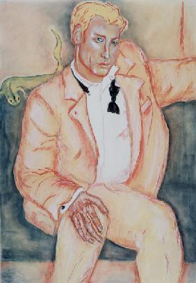 Kunstdruck von  Thisisnotme  - David, 1998 (pastel and charcoal on paper)