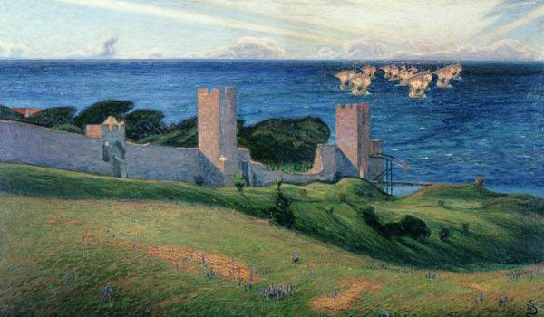 Vision. Scene from Visby 1894