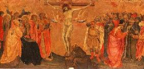 Crucifixion, predella panel