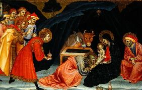 The Adoration of the Magi, c.1499 (oil on wood) 17th