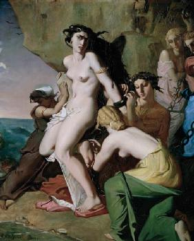Andromeda Tied to the Rock by the Nereids 1840