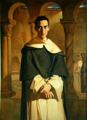 Portrait of Jean Baptiste Henri Lacordaire (1802-61), French prelate and theologian 1841