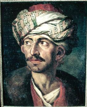 Head of an Oriental or Portrait Presumed to be Mustapha c.1819-21