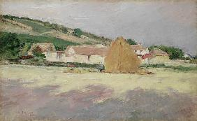 Scene at Giverny 1890