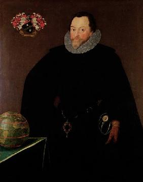 Portrait of Sir Francis Drake (1540-1596) 1591