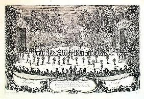 The First Day of the Festival of ''Les Plaisirs de l''Ile Enchantee'', 7th May 1664