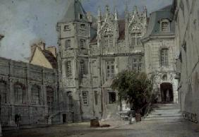 The Hotel Bourgtheroulde in the Place de la Pucelle, Rouen  on