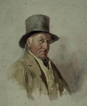 Thomas Worley, Bailiff at Ashurst, at the age of 83