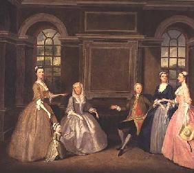 The Broke and Bowes Families 1740