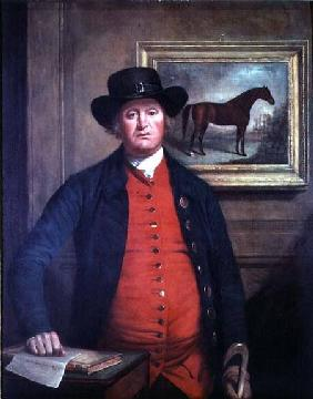 Richard Tattersall (1724-95) with 'Highflyer' in the background