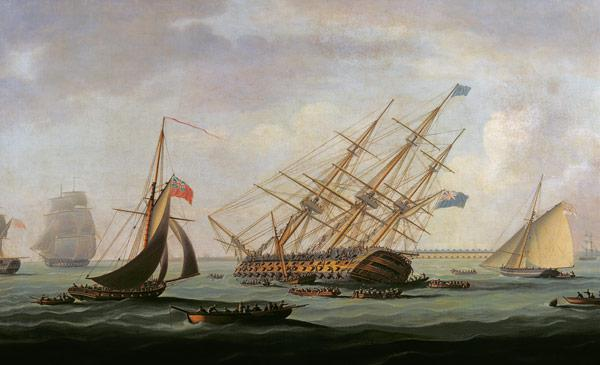 The Sinking of the Royal George