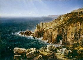 Kunstdruck von Thomas Creswick - Land's End, Cornwall