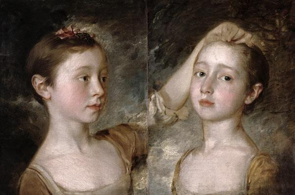 The Painter's Daughters Mary and Margaret c.1758