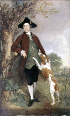 Portrait of George Venables Vernon, 2nd Lord Vernon 1767