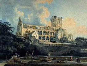 Jedburgh Abbey from the River c.1798-99