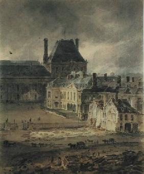 The Palace of the Louvre 1801-2  on