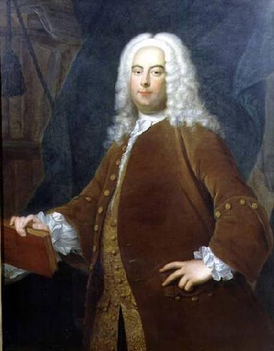 Portrait of George Frederick Handel (1685-1759) c.1736