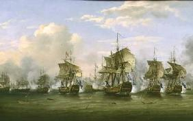 The Battle of Dogger Bank 1781