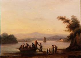 On the Dart near Dittisham 1828