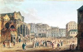View of Saint-Germain-l''Auxerrois, c.1802