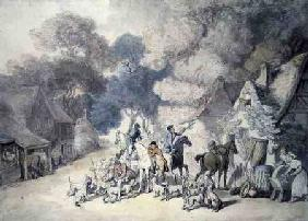 Going Out in the Morning, a Scene in Windsor Forest c.1801  &