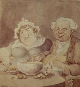 Gourmets (litho)