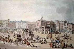 The Market Place, Kingston-upon-Thames 1812  & w/