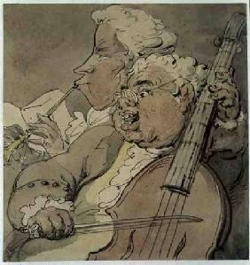 Two Musicians c.1774  on