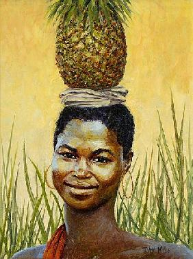 Pineapple Girl, 2004 (oil on canvas)