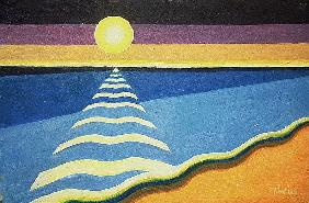 Sun, Sea and Sand, 2003 (oil on canvas)