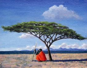 The Shady Tree, 1992 (oil on canvas)