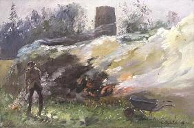 Autumn Bonfire, 1991