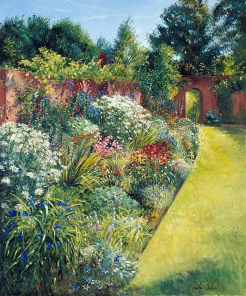 Path to the Secret Garden (oil on canvas)